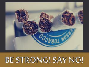 BE STRONG! SAY NO! (4)